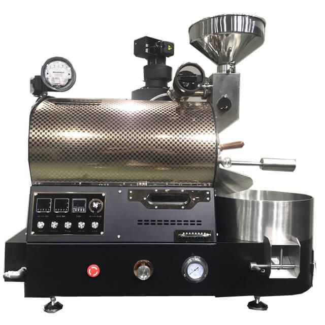 2Kg Gas Roaster Phiên bản nâng cấp Máy rang hạt cà phê cho quán cà phê